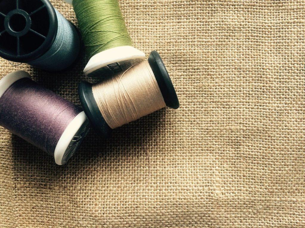 cloth, fabric, thread